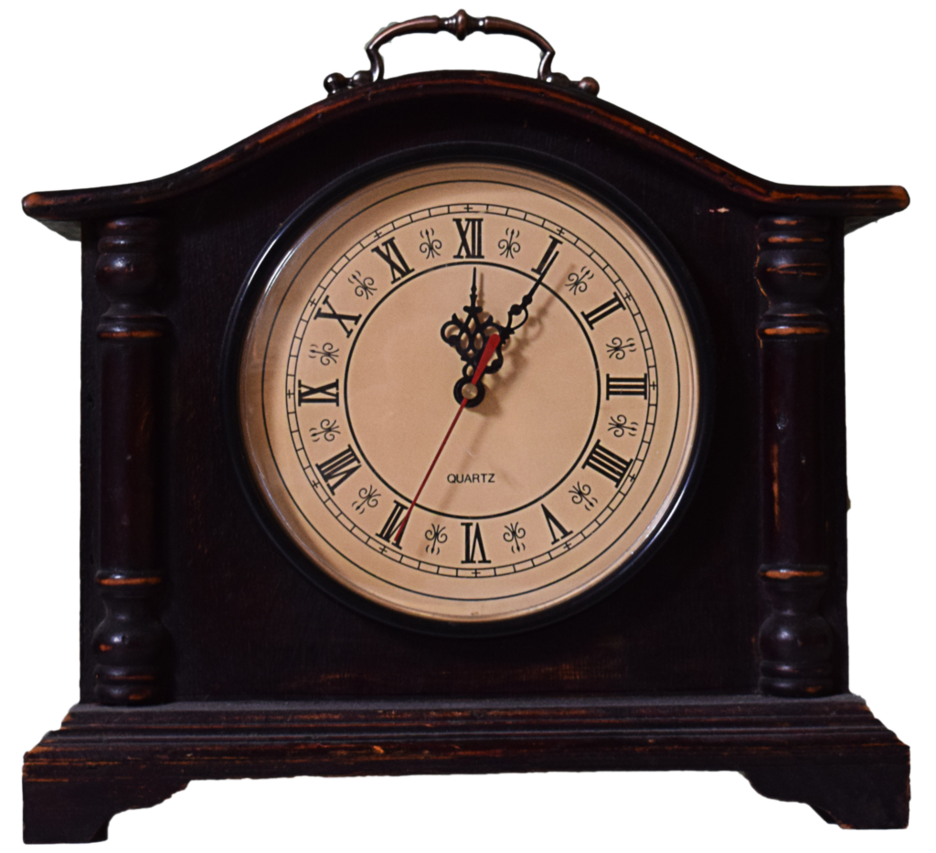 Old clock png. Updated stock by mom