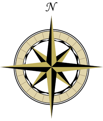 drawing chinese compass