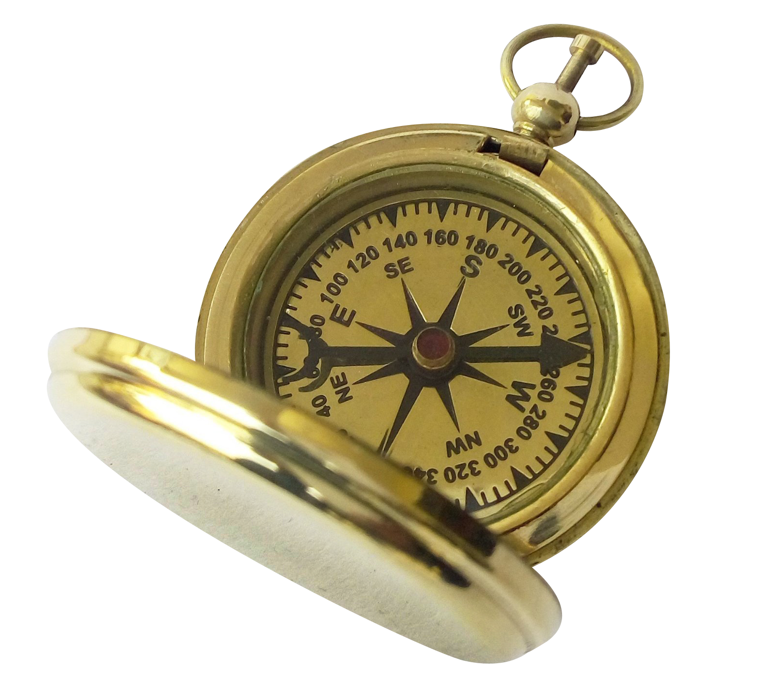Old compass png. Transparent image best stock