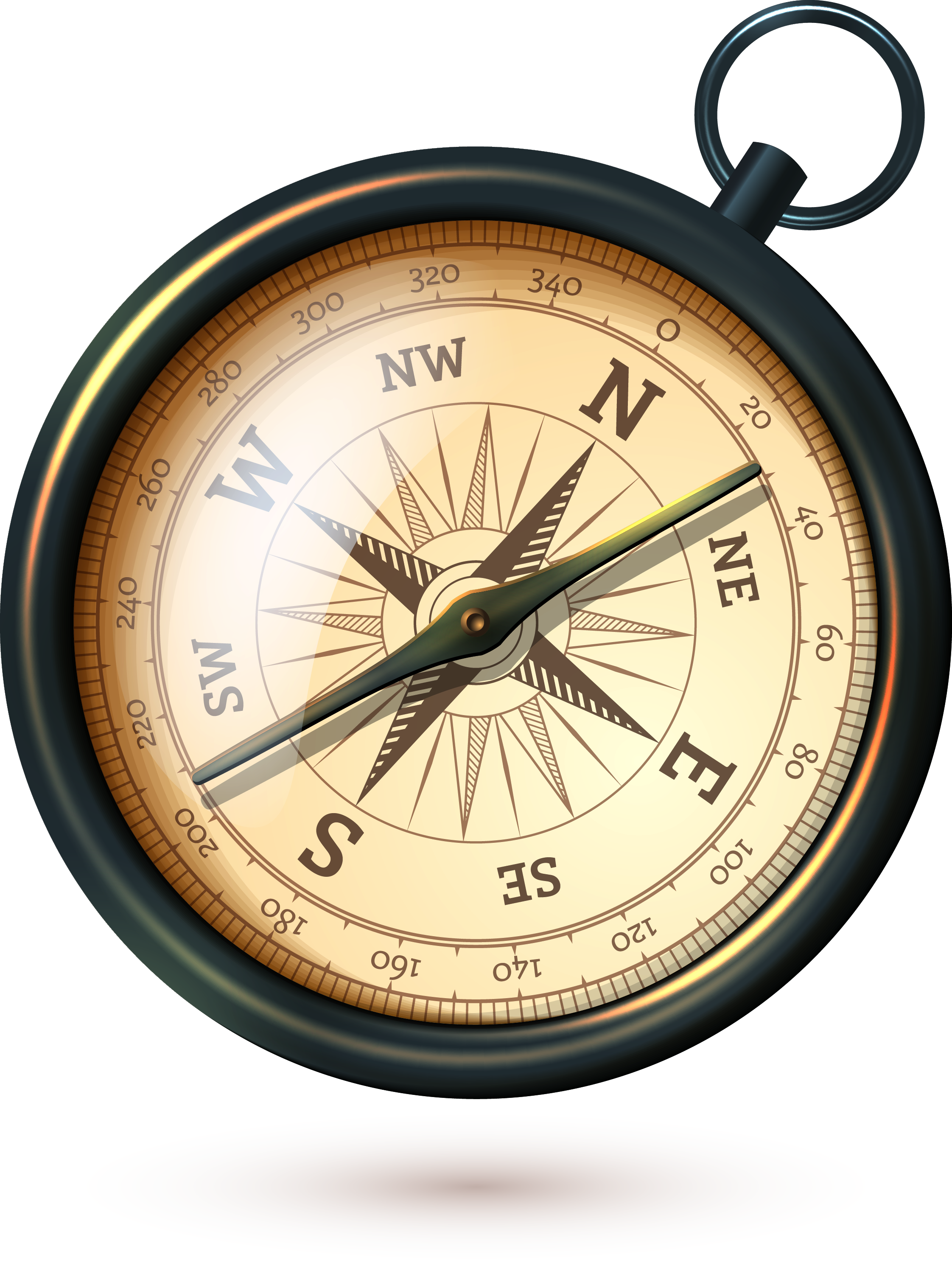 Old compass png. Stock photography antique illustration