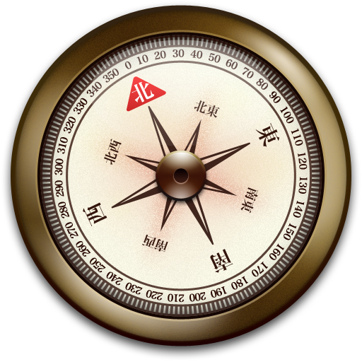 Old compass png. Iphone correction icon iconset