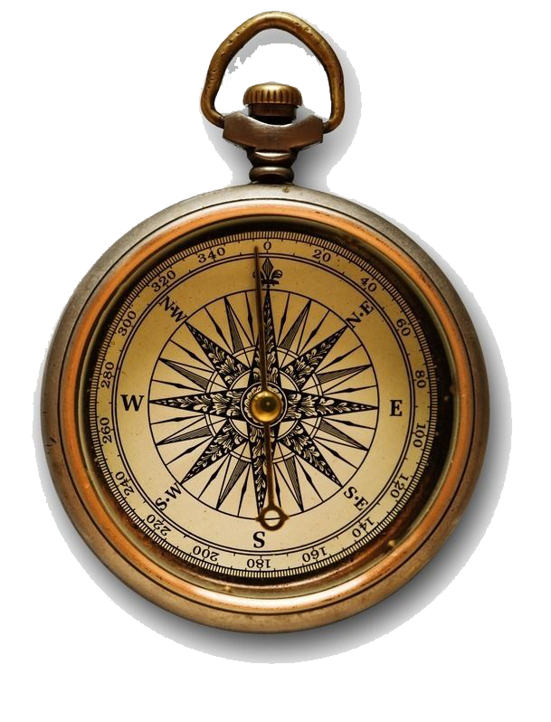Old compass png. High definition video map
