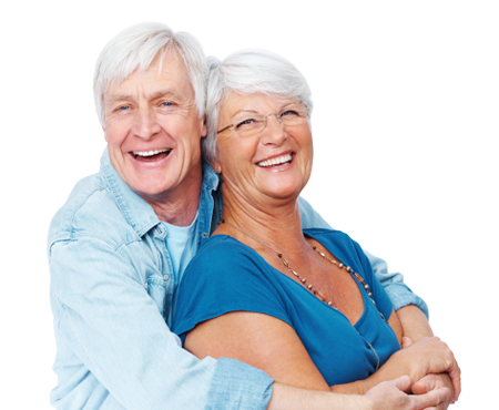 Old couple png. Eye doctor chicago il