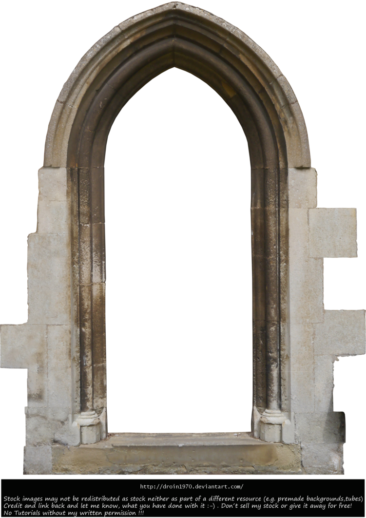 Old door png. Stock by droin on