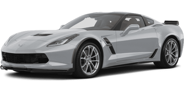 Old drawing corvette. Collection of free corvet