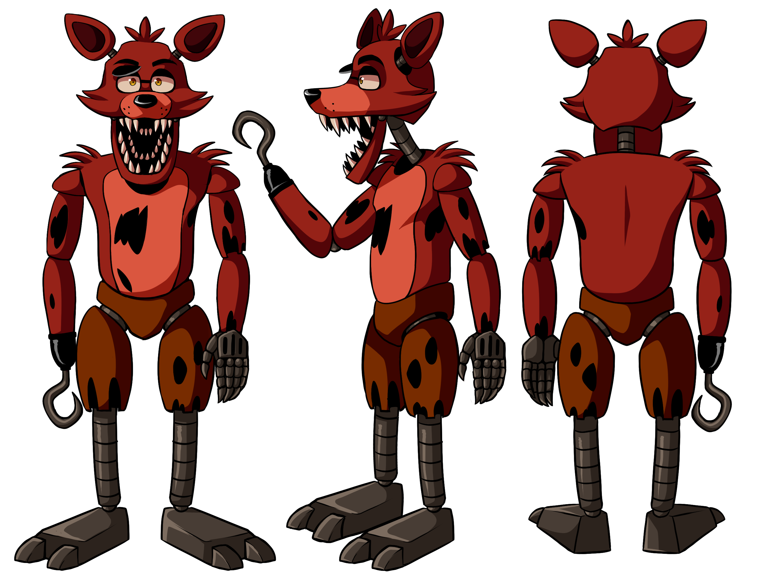 Old drawing foxy. Unofficial reference guide by