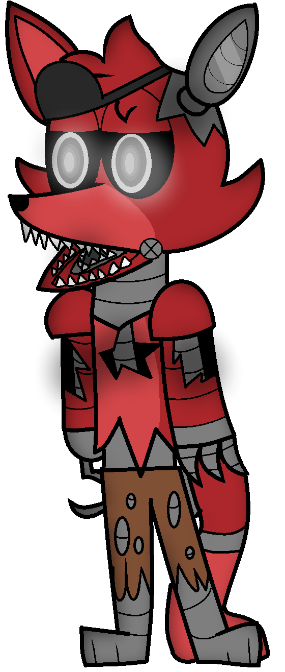 Old drawing foxy. Fnaf challenge with by