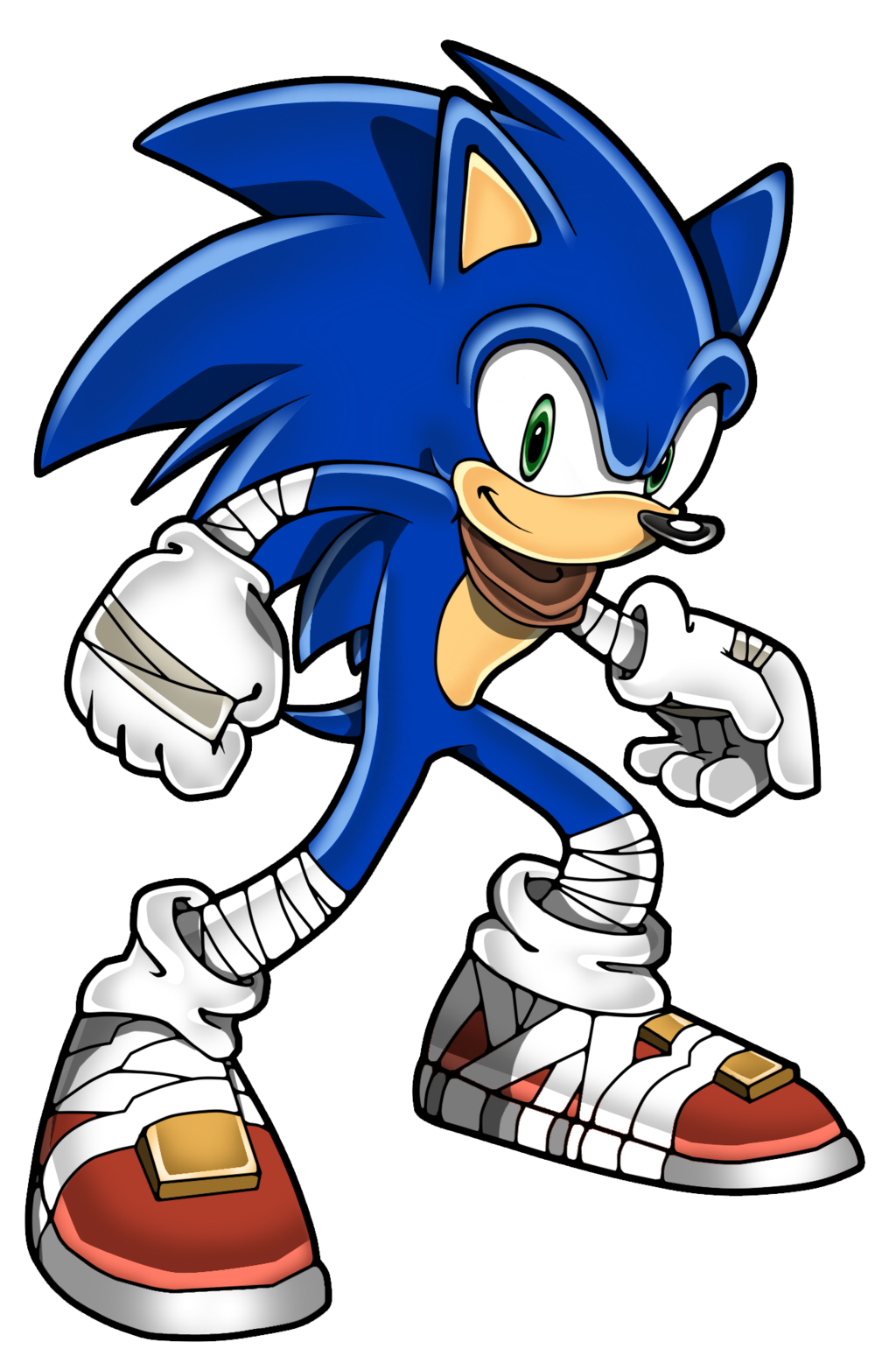 Old drawing sonic. Boom at getdrawings com