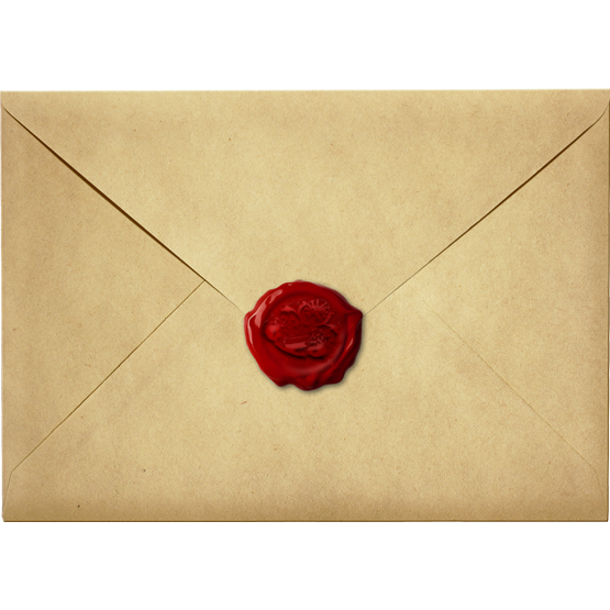Envelope transparent old. Personalised email address principality