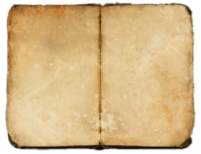 Old journal png. Texture by dogyjoe on
