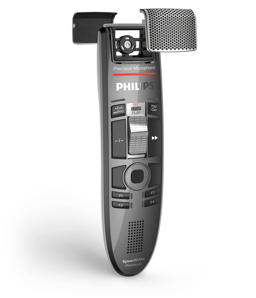 Old microphone png. Speechmike premium touch dictation