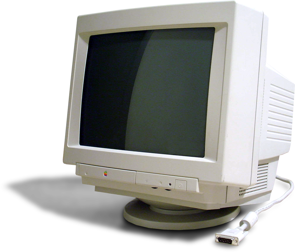 Old monitor png. Apple multiple scan display