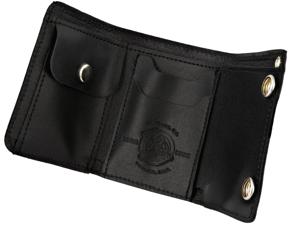 Old open wallet with info png. Men s tri fold