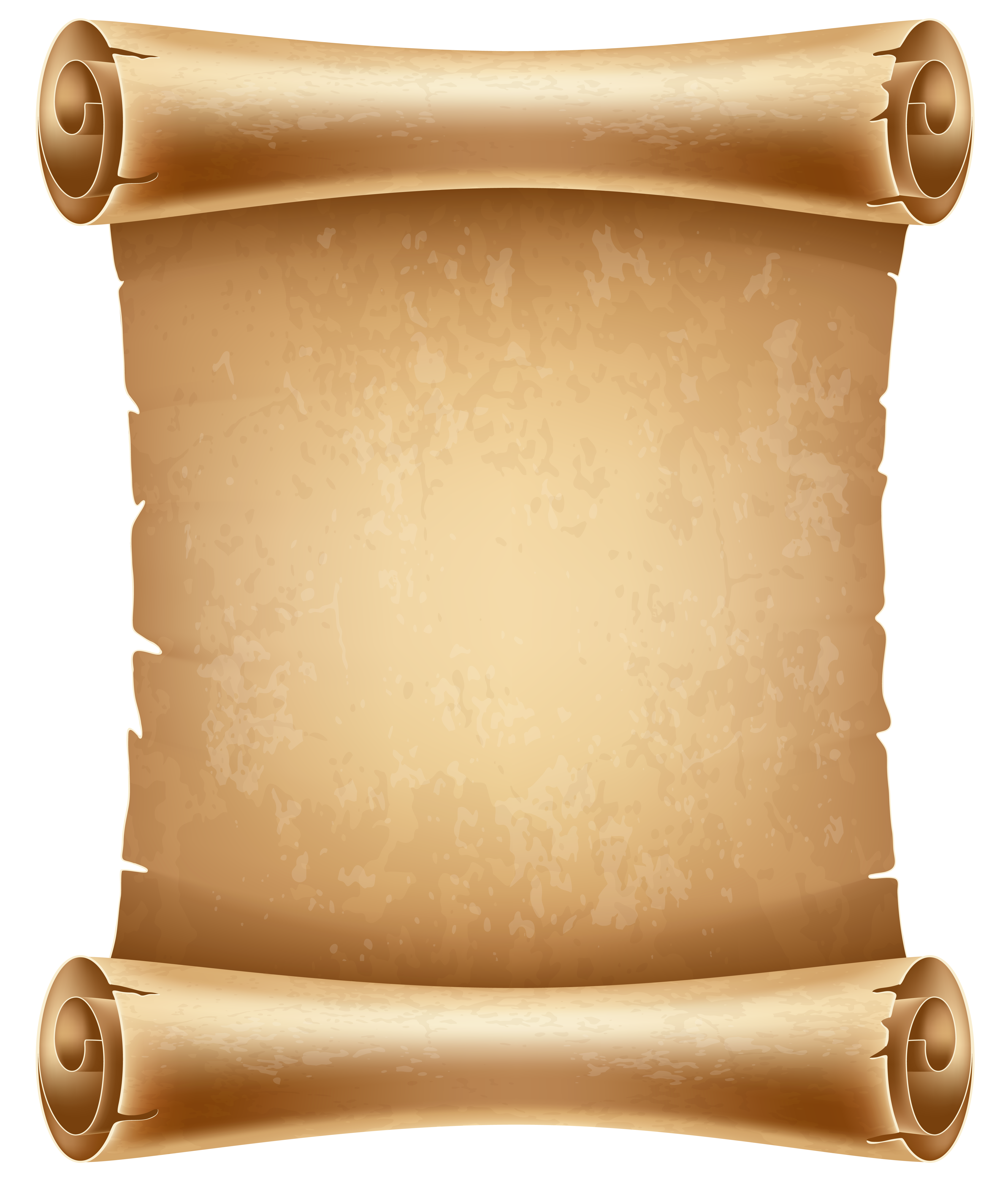 Old paper scroll png. Scrolled clipart image gallery