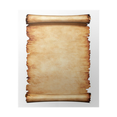 Old parchment paper png. Letter background poster pixers