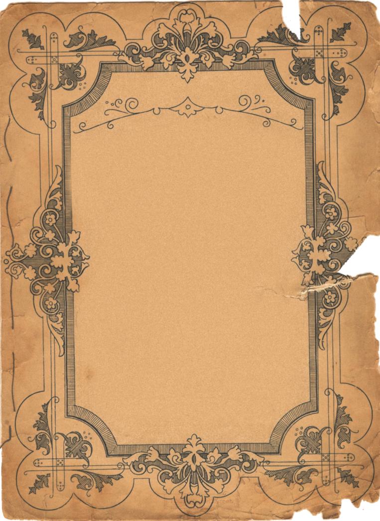 Old parchment paper png. Vintage by bmastock on
