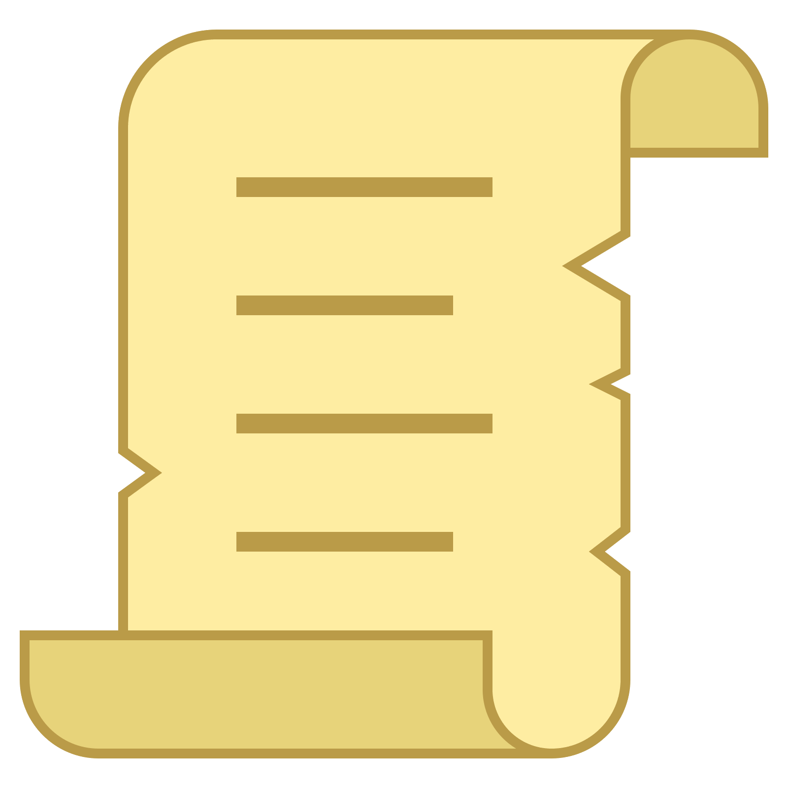 Old parchment png. Icon there is