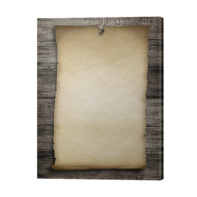 Old parchment png. Wanted paper or pinned