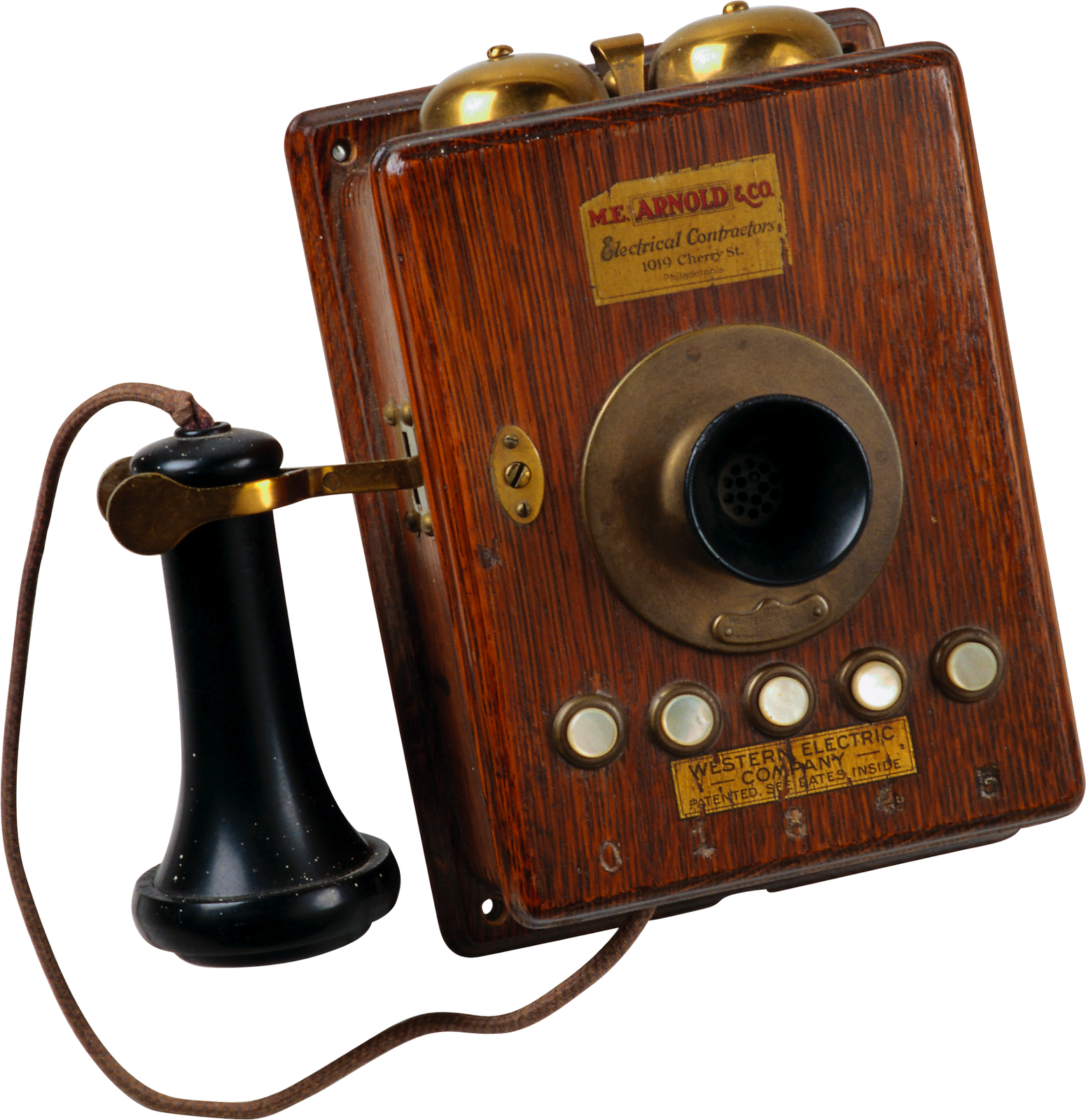 First telephone png. Old phone