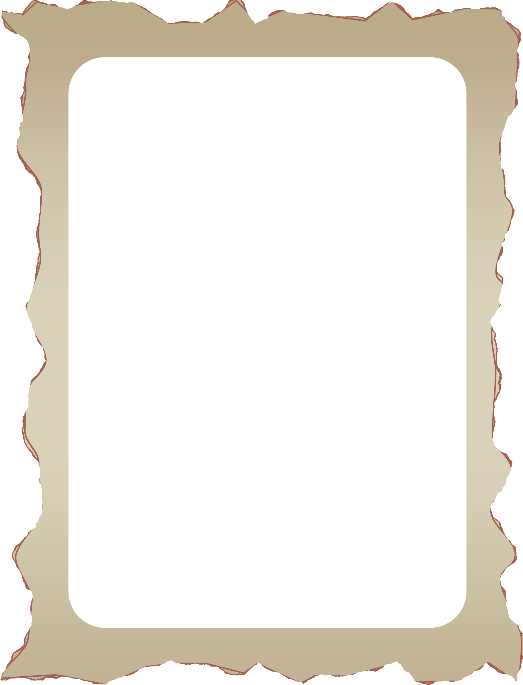 Old photo border png. Parchment icons free and