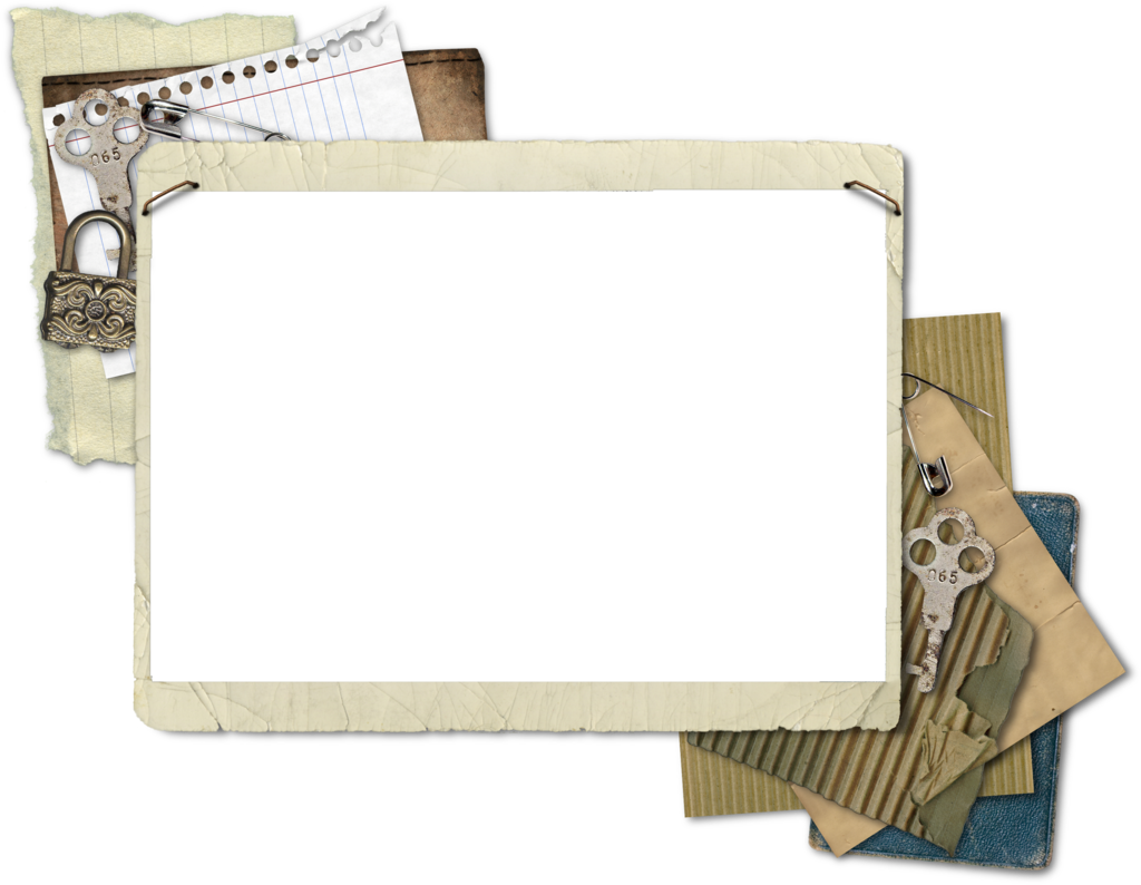 Old photo border png. Vintage frame transparent pictures