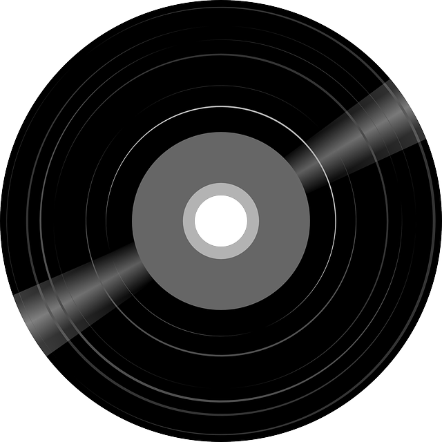 Old recording png. Phonograph record sound and