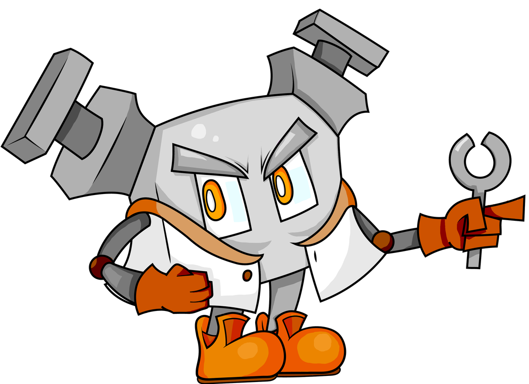 Old robot png. Oc by topazpikmin on