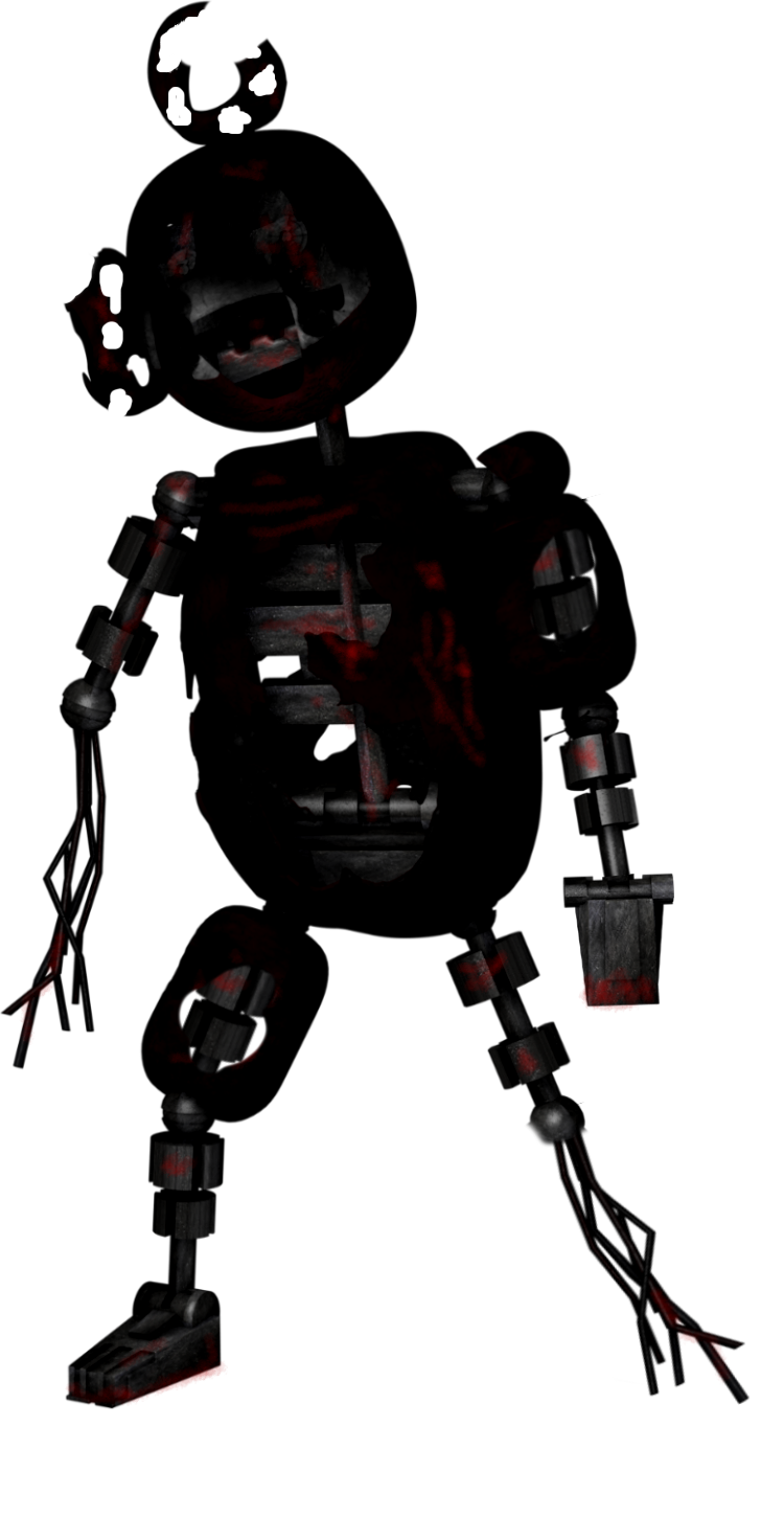Old robot png. Image withered monster aka
