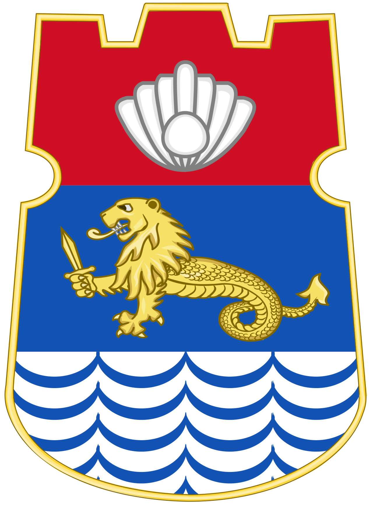 Old stamp crest png. Coat of arms manila