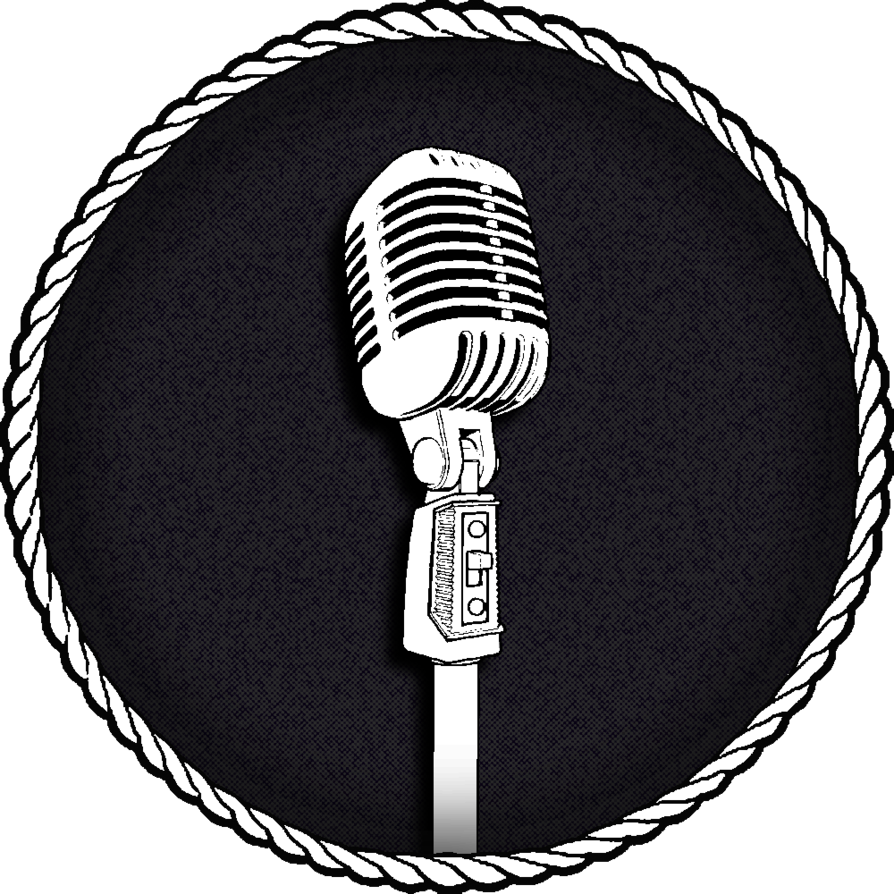 Old time microphone png. Logo by raqib on