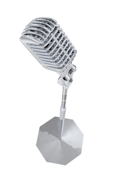 Old time microphone png. Retro welcomia imagery stock