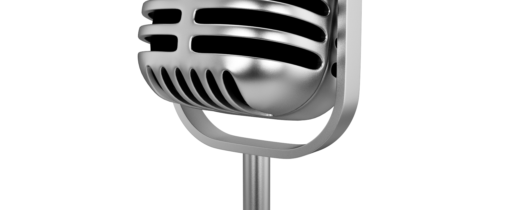 Old time microphone png. Zencastr retromicbannerpng