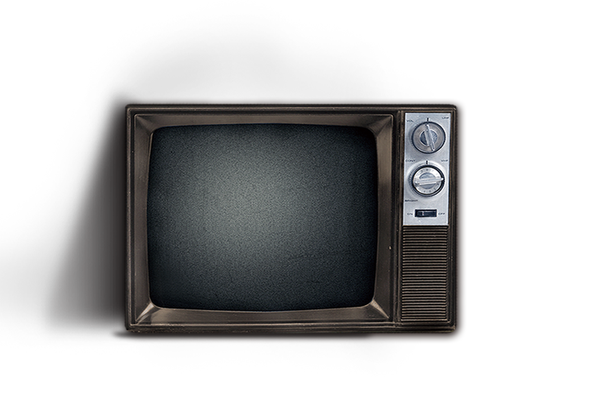 Old tv screen png. Television set transprent free