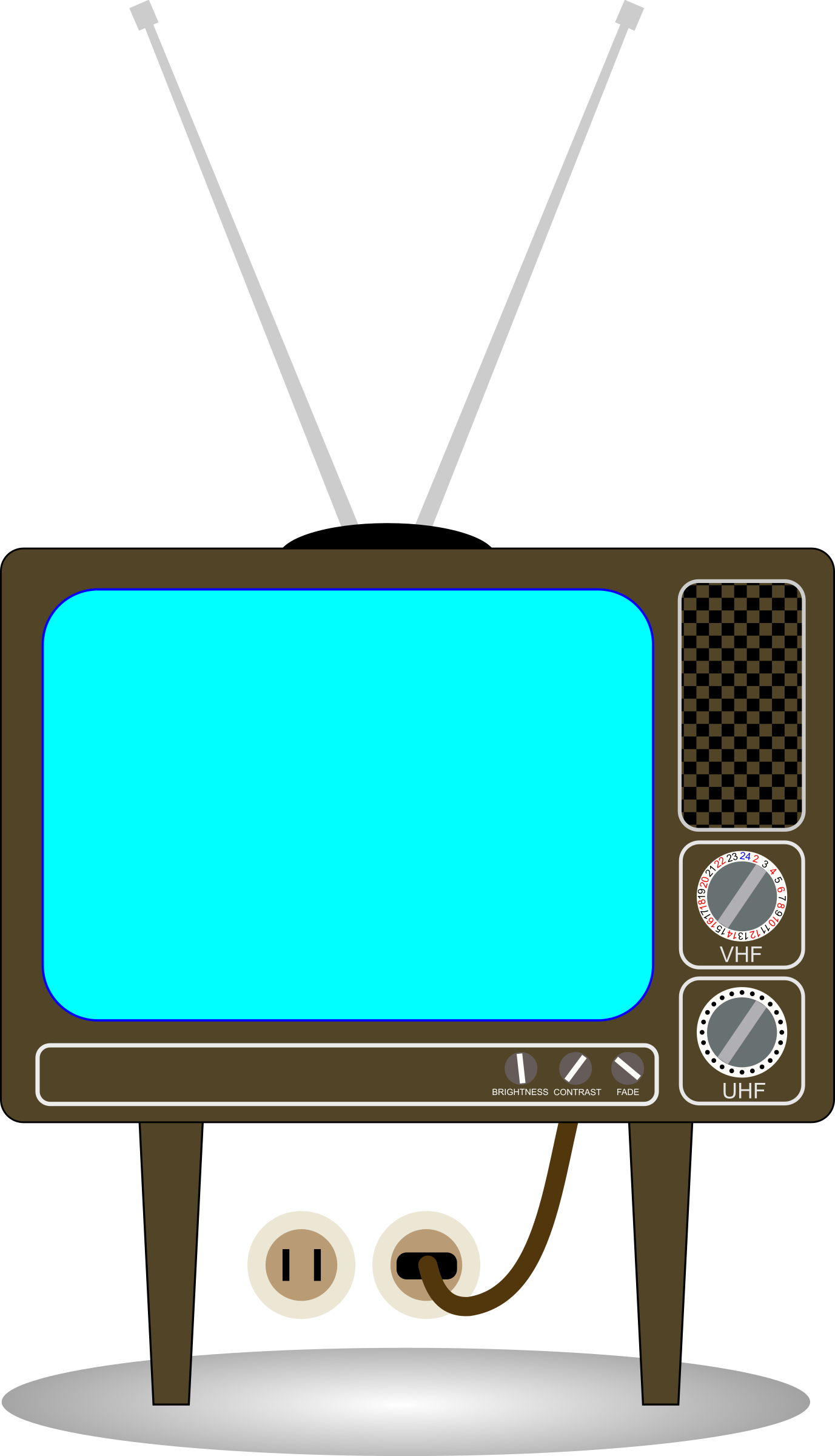 Old tv set png. Icons free and downloads