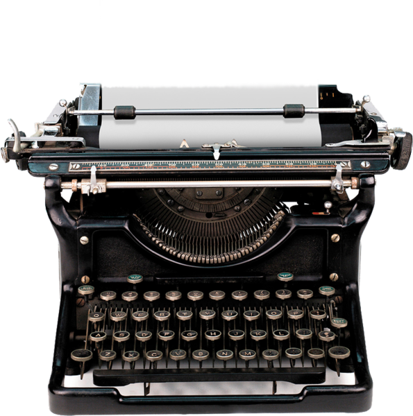 Old typewriter png. Psd official psds share