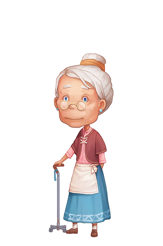 Old woman png