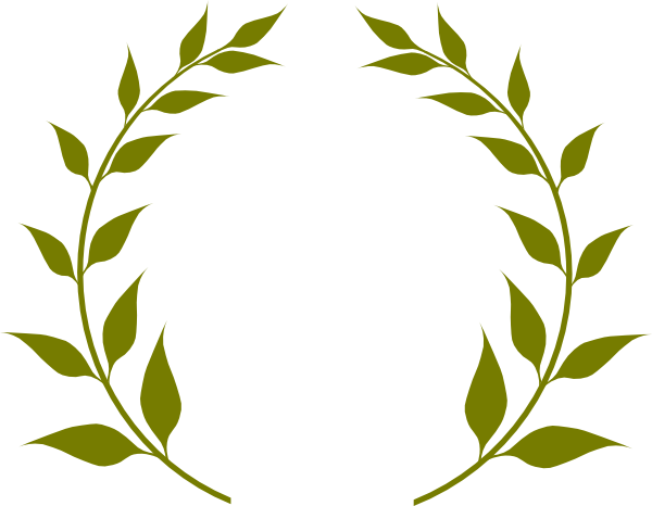 olive branch wreath png
