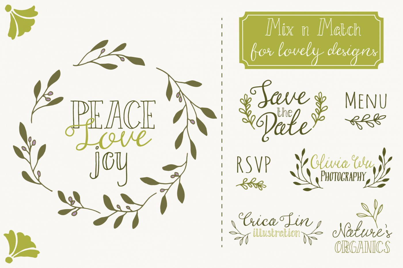 Olive clipart olive branch. Clip art vectors by