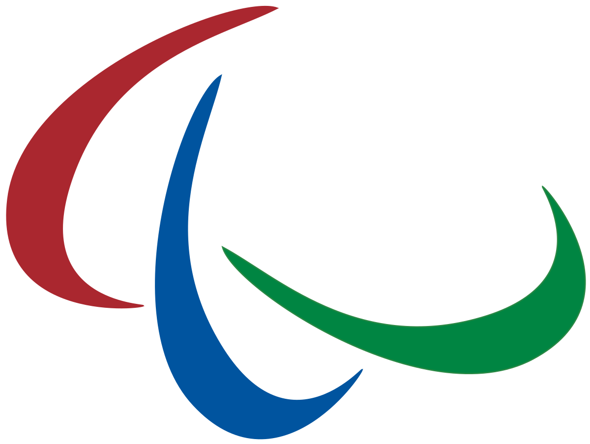 Swish vector arrow. Paralympic games wikipedia
