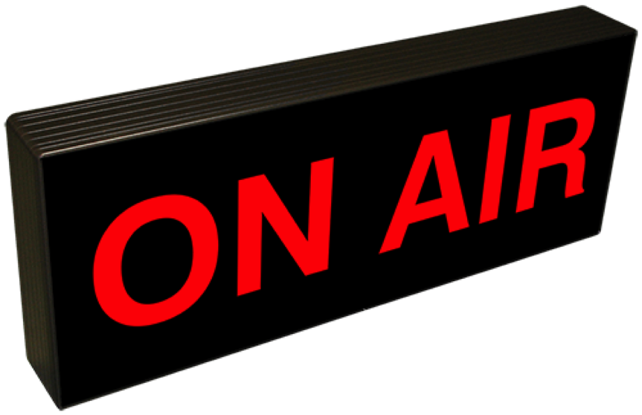 On air sign png. How to design your