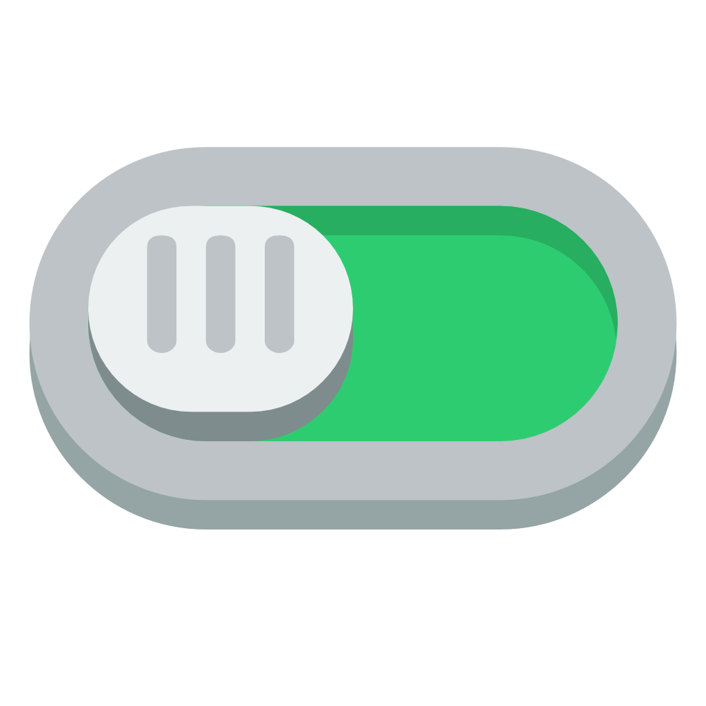 On off buttons png. Switch icon small flat