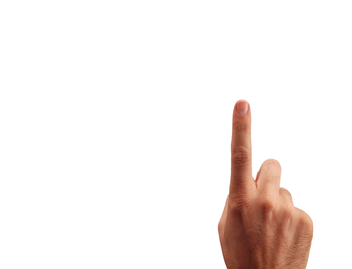 One finger png. Image purepng free transparent