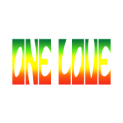 One love png. Reggae design women s