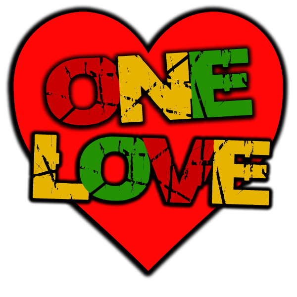 One love png. Dub t shirt dubshop