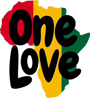 One love png. Africa wall sticker tenstickers