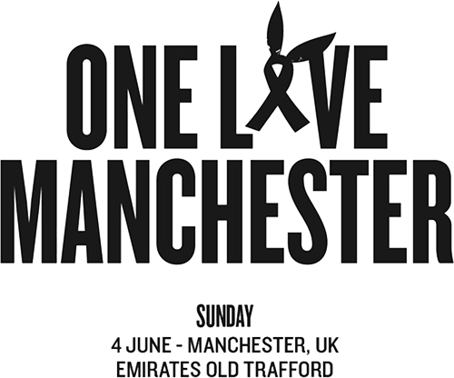 One love png. Manchester benefit concert the