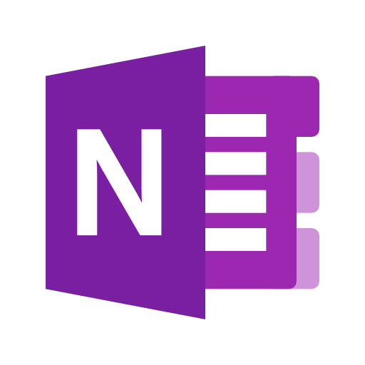 One note png. Microsoft onenote icons vector