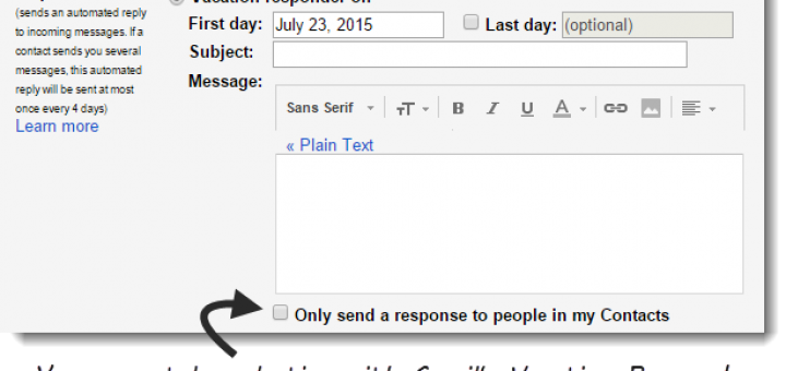 One of my gmail accounts lets me send png the other gmail account wont. Create out office to