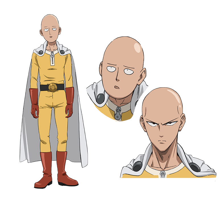 One punch man saitama png. Anime series is coming