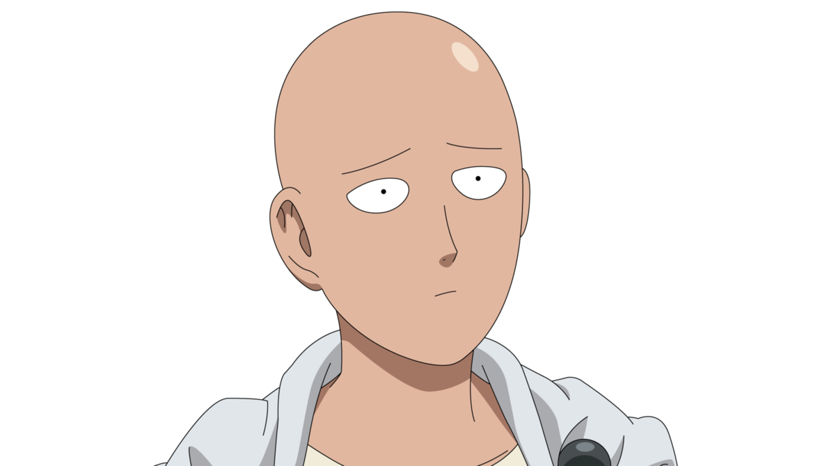 One punch man saitama png. By shiino on deviantart
